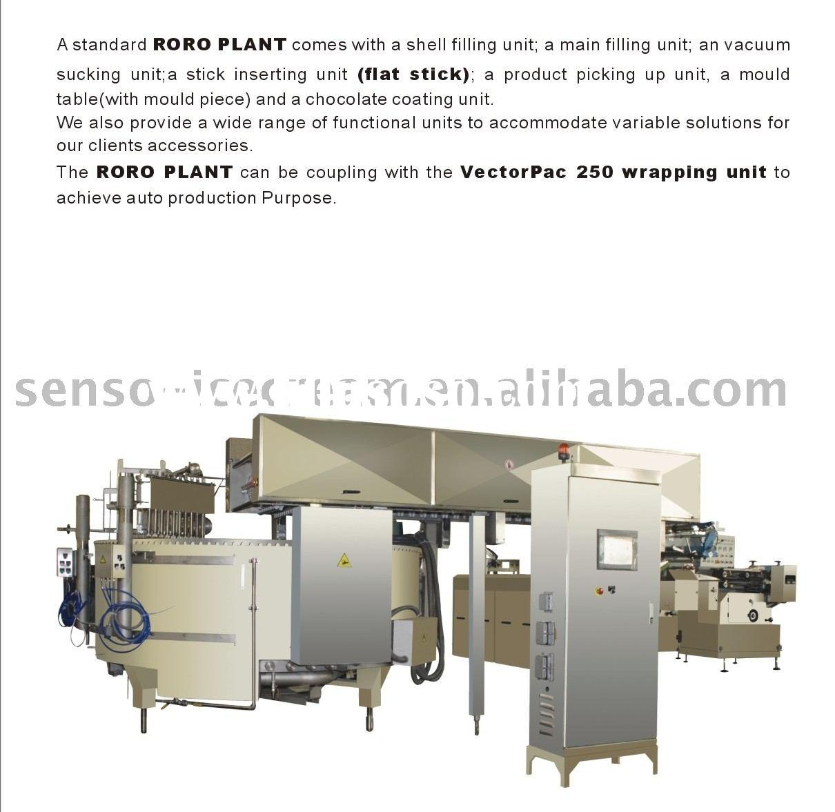 RoRo Plant/stick line/ice cream machine/ice cream stick line