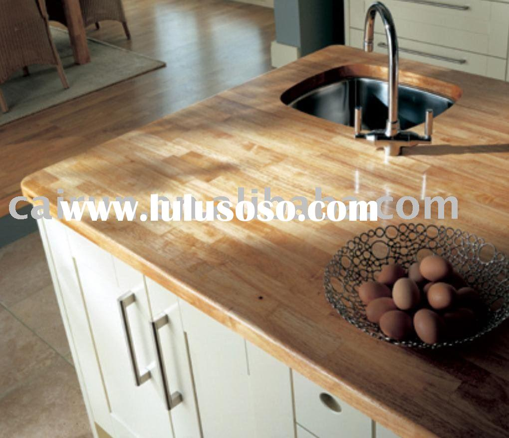 Rubber Wood Finger Joint Laminated Board, Rubber Wood Countertop, Edge  Glued Panel