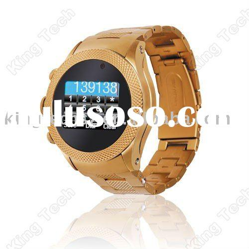 S766 Luxury FM Camera Dual Sim Card Mobile Phone Watch