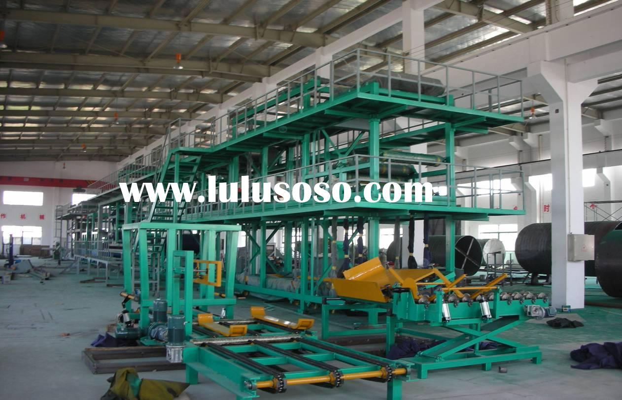 SBS/APP modified bitumen waterproofing membrane production line