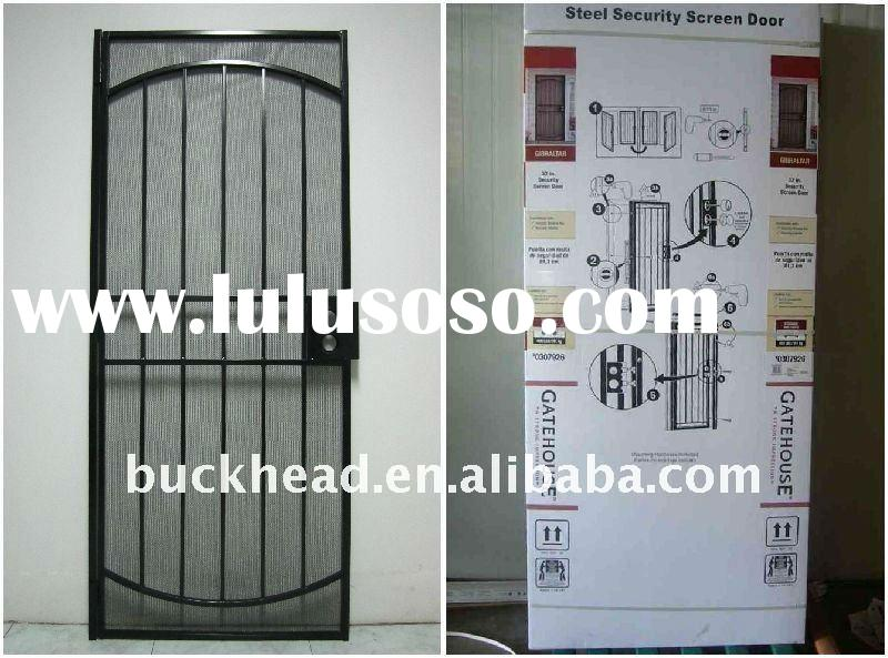 STEEL SECURITY SCREEN DOOR
