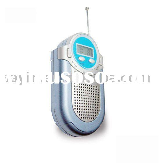 SY-118 FM AUTO SCAN RADIO with CLOCK