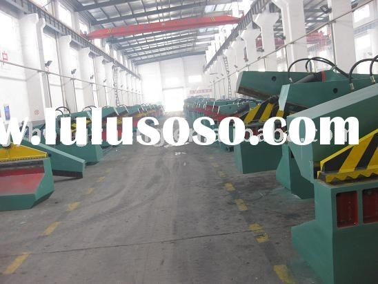 Scrap metal cutting machine,Cutting plate machine,Sheet metal shearing machine