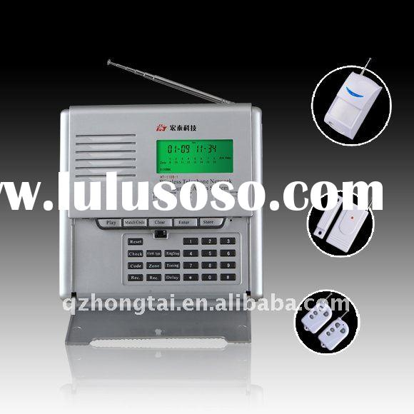 Security GSM Alarm System with 16-Wireless Zone and CID Compatibility