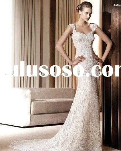 Sell Lace Mermaid Trumpet Dresses Wedding dress Evening dress bride gown bridal Dress Prom dress