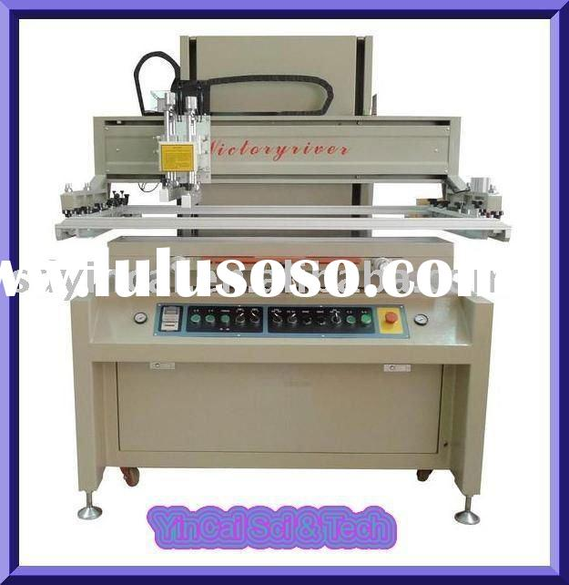 Semiautomatic vertical silk screen printing machine, printer,screen printing machine