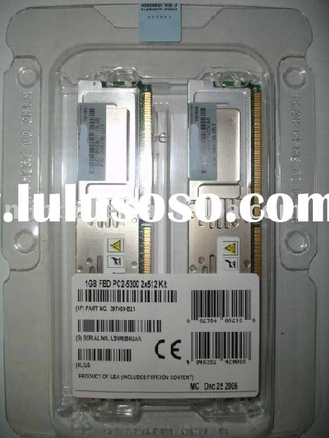 Server Memory Ram Module For HP 397409-B21 PC2-5300 1GB CL5 ECC DDR2 SDRAM FULLY BUFFERED DIMM ram