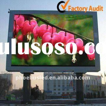 Shenzhen P20 Outdoor LED Display Board Screen