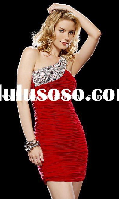 Short Charming sequined prom dresses 2011