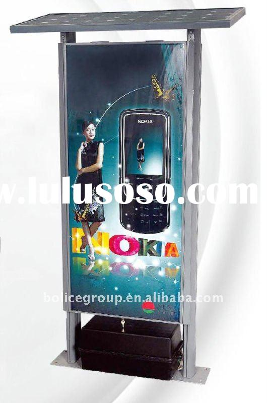 Solar Outdoor Advertising Light Box