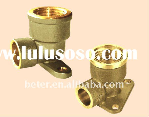 Soldering Fitting,Brass Soldering Fitting For copper pipe,Wallplate Elbow Female