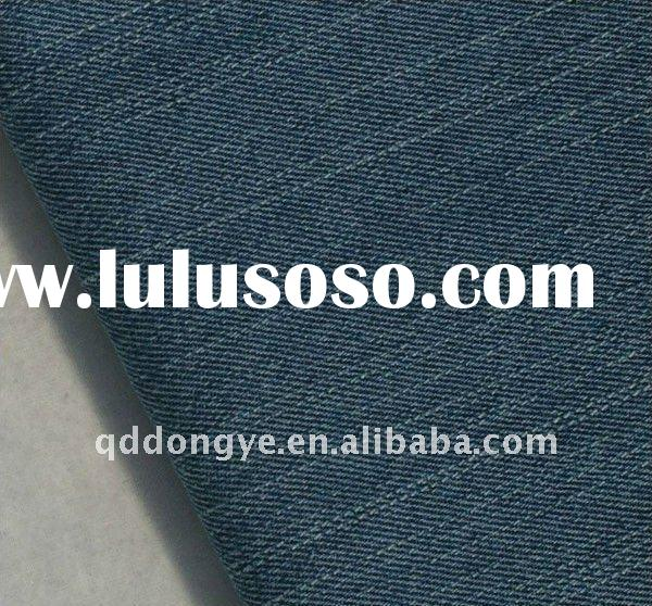 Spandex polyester/cotton denim fabric