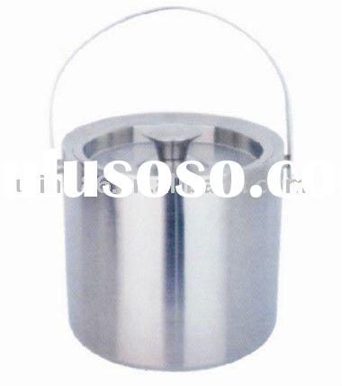 Stainless steel ice bucket/double wall wine cooler/barware
