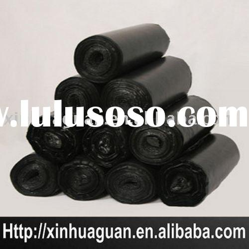 Star seal HDPE Plastic garbage bag on roll