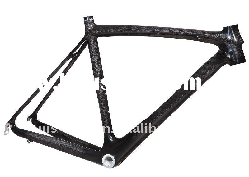 Stiff and lightweight full carbon road bike frame