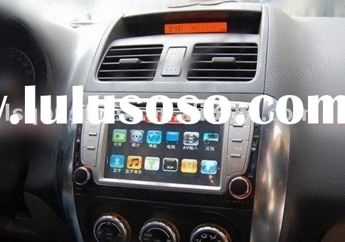 Suzuki SX4 car DVD player with GPS, bluetooth, FM, TV, RDS, SD, USB and steer wheel control ...
