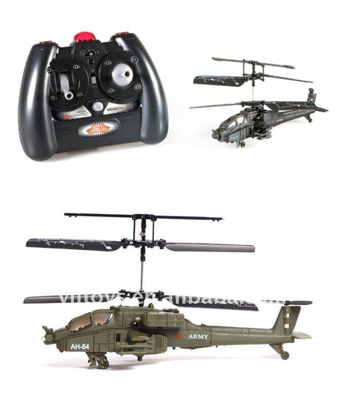 Syma S012 RC 3CH Mini AH-64 Apache Helicopter