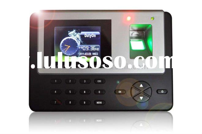 TFT color screen,Fingerprint time and attendance,time recorder,time attendance