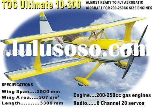 TOC Ultimate 200CC rc airplane petrol power balsa-made remote control toy model