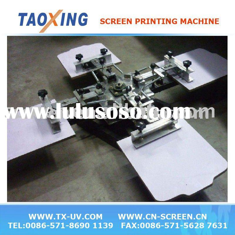 T shirt or fabric screen printing machine(4 color )