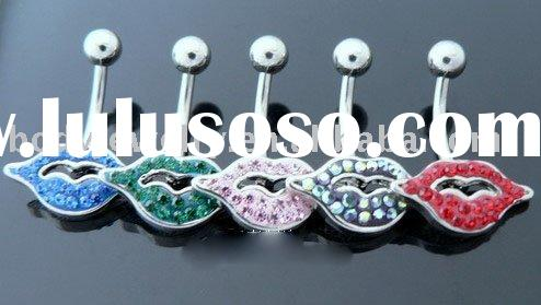 The most popular 316L stainless steel navel ring Body piercing Jewelry