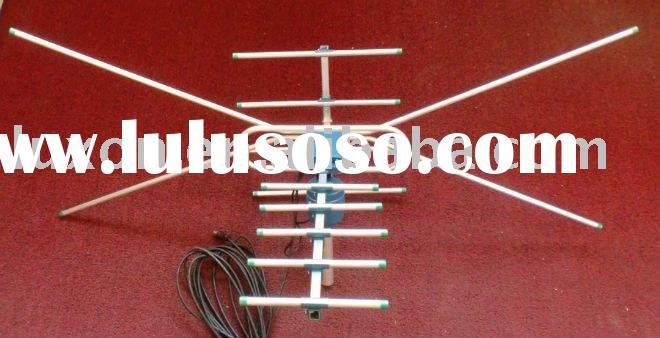 UHF VHF HD outdoor TV Antenna, simple design with stronger receipt function.