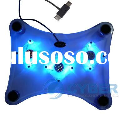 USB 3 Fan Light Laptop Cooling Pad