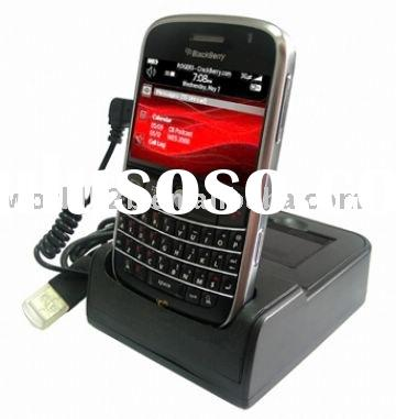 USB Cradle/Dock Station for BlackBerry Bold 9000, with Battery Charger