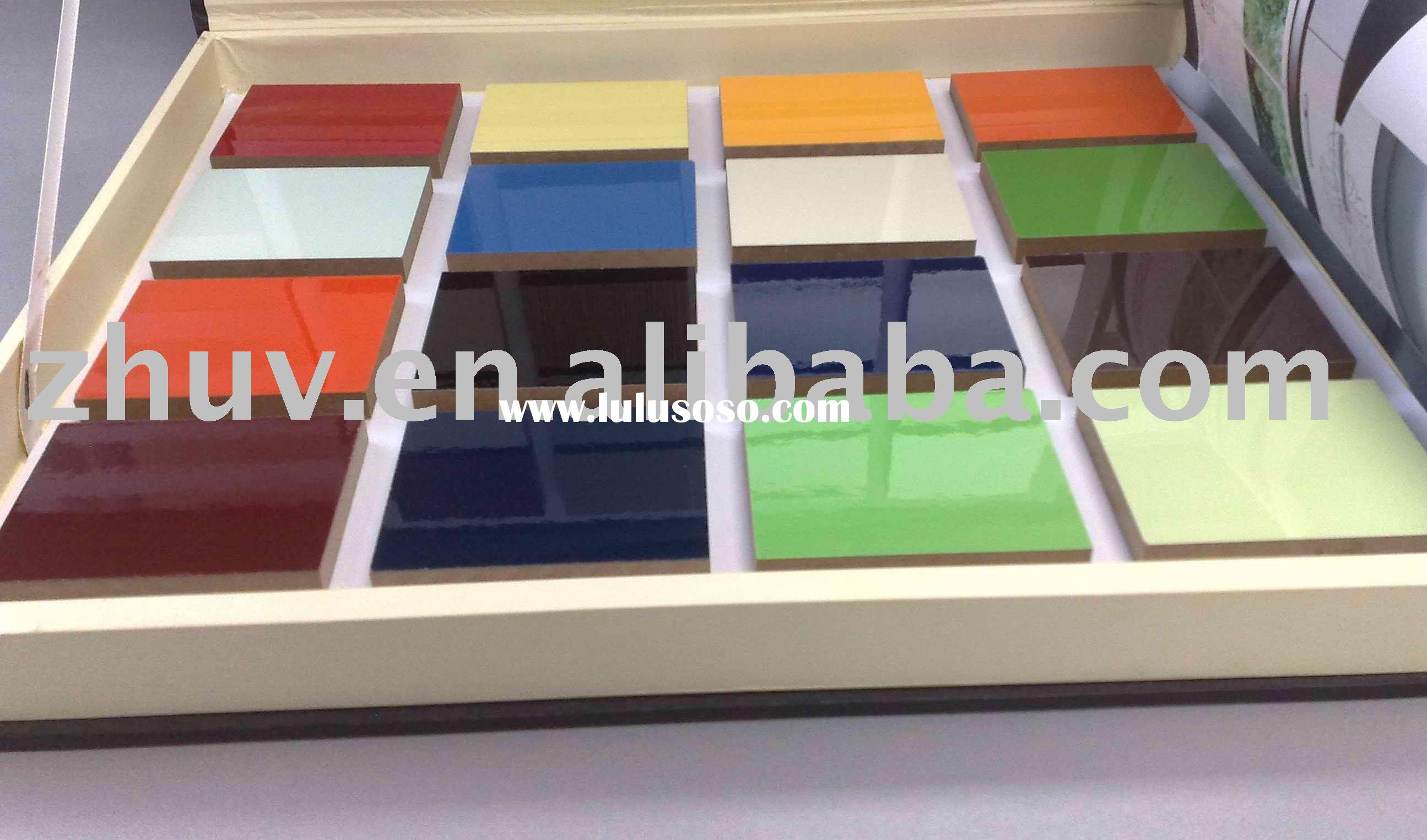 UV High Gloss MDF Panel,MDF Board( Ideal for Kitchen Cabinet Doors 2440*1200*18mm Free Sample)