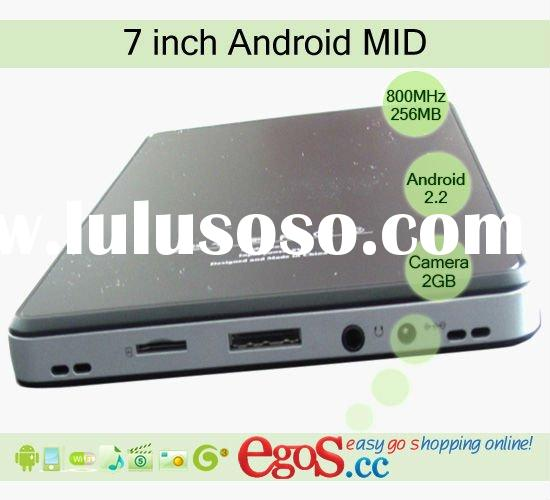 VIA 8650 Dual Core CPU 7 inch Android MID