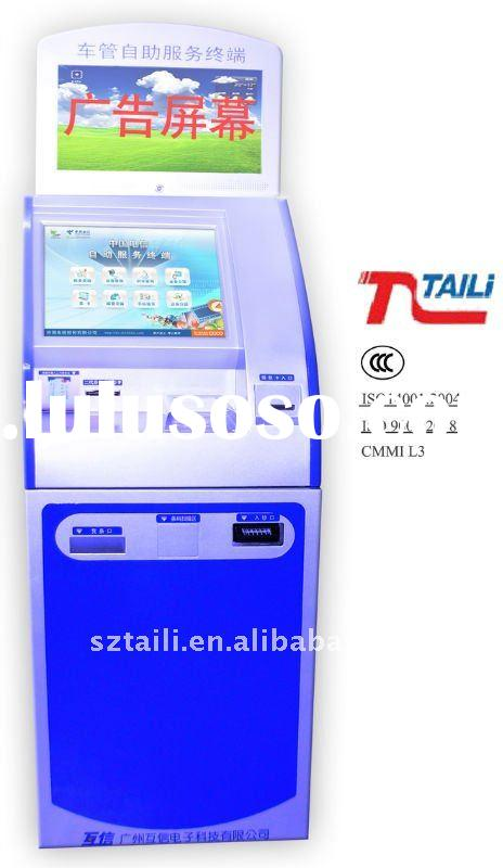 Vehicle Administration Self-service touch screen advertising kiosk TLST-1012