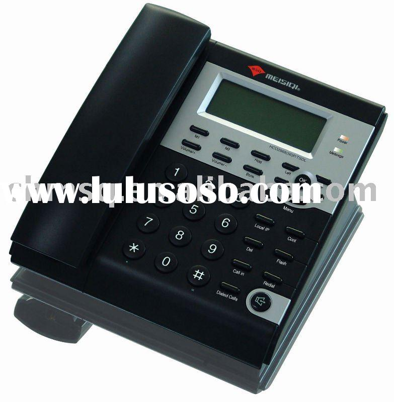 VoIP SIP IP phone with 1 PSTN port