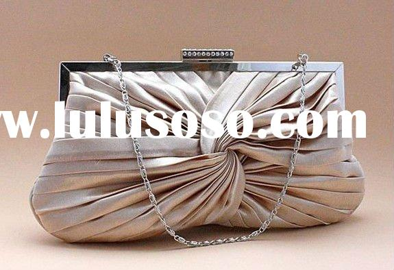 Vogue ladies accessories / woman fashion PU small bag clutch bag /evening bag/satin bag
