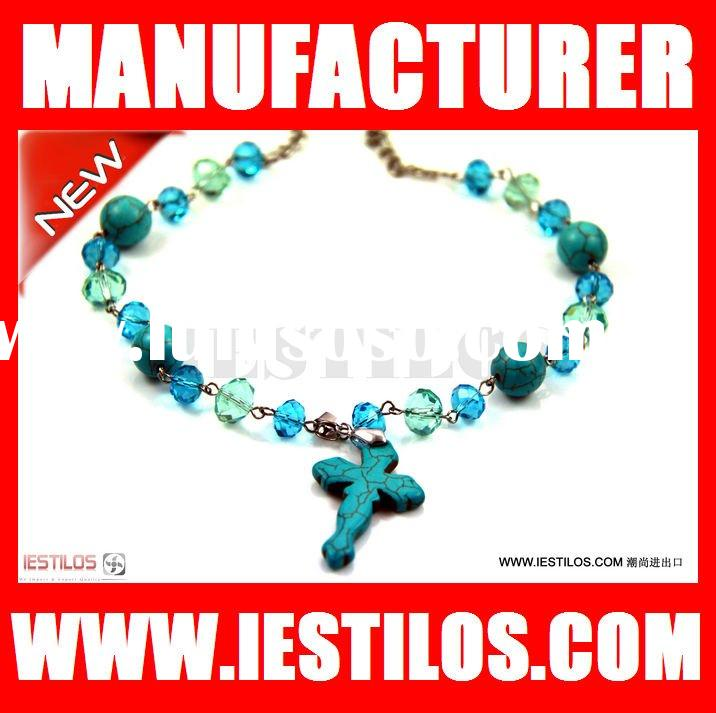 WHOLESALE 2012 New Fashion turquoise Necklace ruby necklace sets