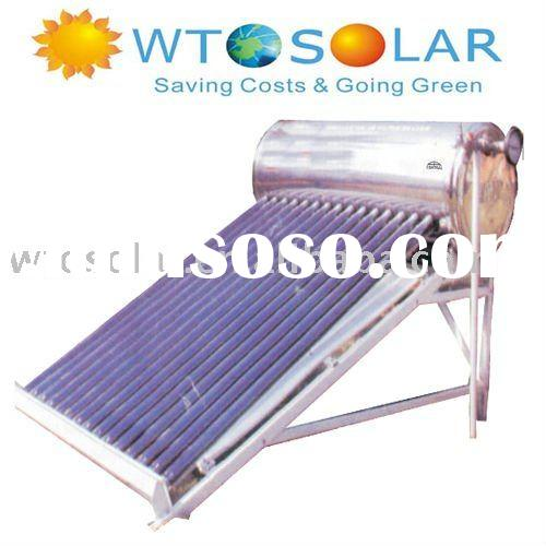 WTO-LP WTO direct unpressurized solar water heater system