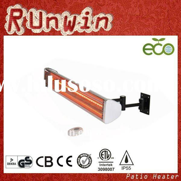 Wall Mounted Electric Halogen Radiant Heater(Single Heating Lamp)