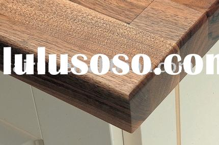 Walnut Worktop, wood kitchen worktop, soid wood panel, finger joint panel, finger joint board, finge