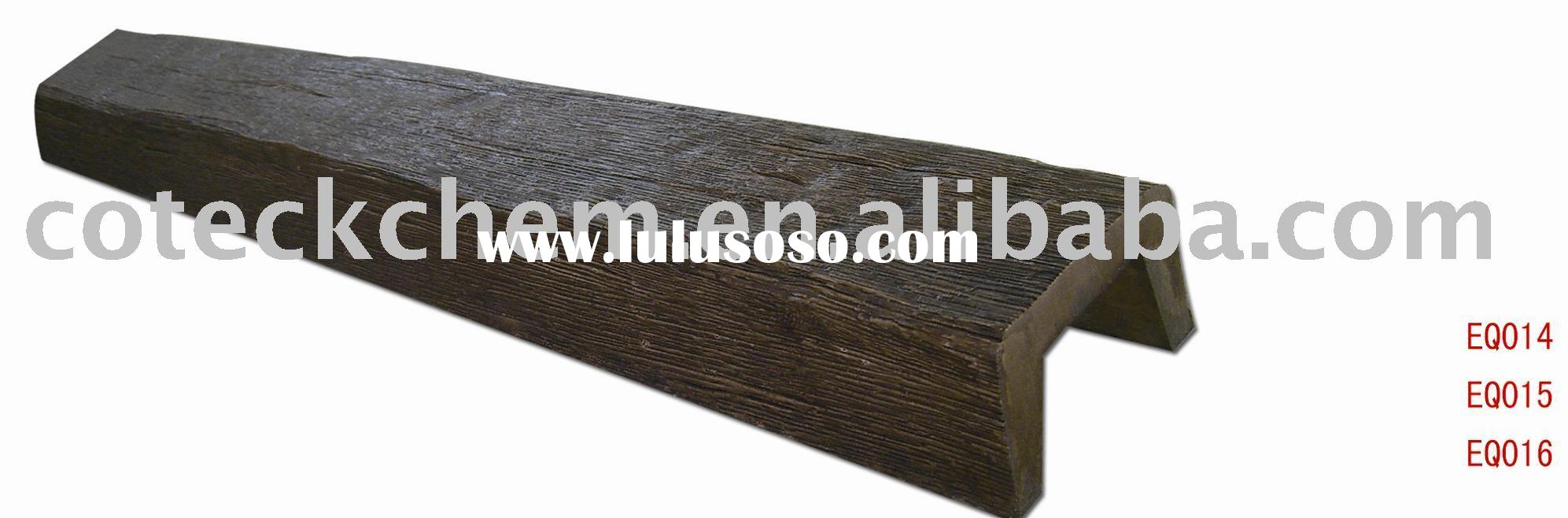 Water Proof/PU Faux Wood Beam Corbel/building material/substitution of gypsum plaster /construction