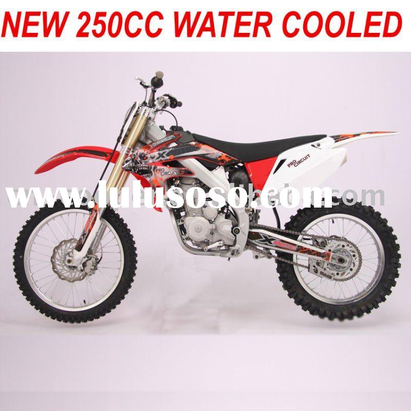 Water cooled 250cc Dirt Bike