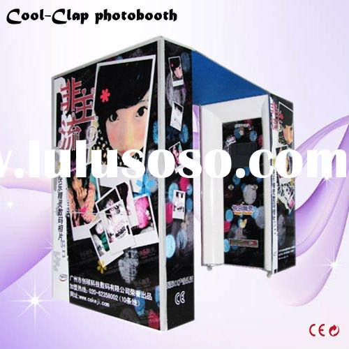 Wedding photo booth machine helps you start your own business.