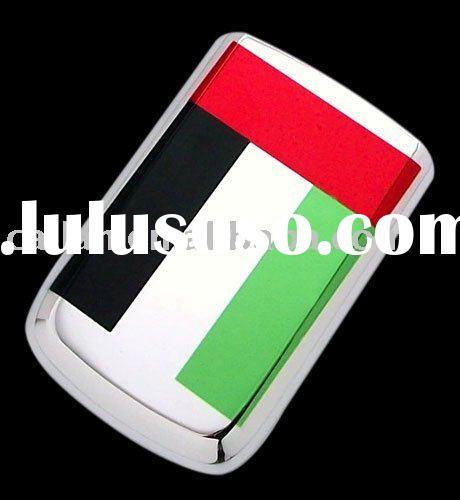 Whole Blackberry Bold 9700 UAE Flag style battery cover/ skin/ case/ Battery door for BB 9700