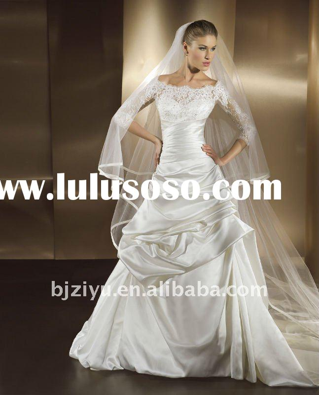 Wholesale Price Wedding Gown New Arrival Design High Quality