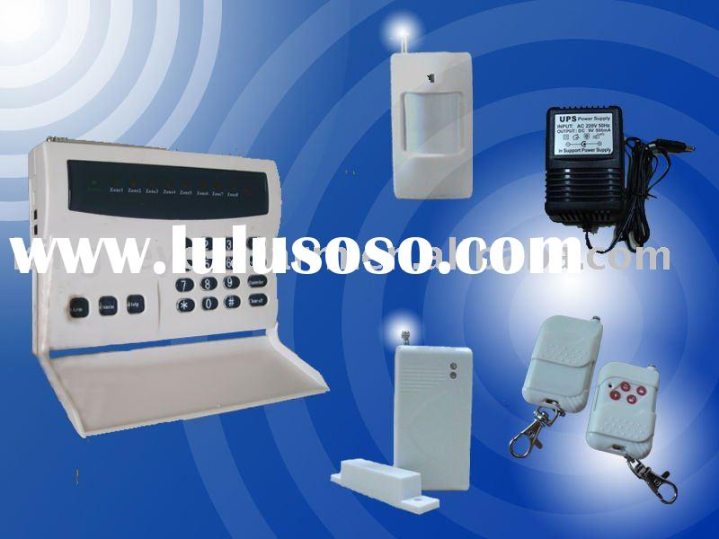 Wireless & Wired home alarm system kit