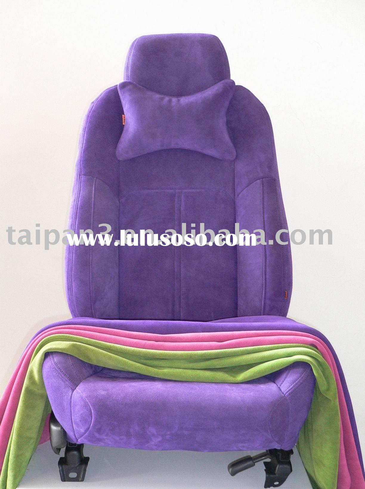 Women-only Design Suede Car Seat Cover