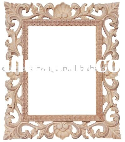 Wood Carved Picture Frames