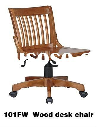 wood desk chair plans