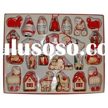 Wooden Christmas Decorations/Wooden Christmas Ornaments