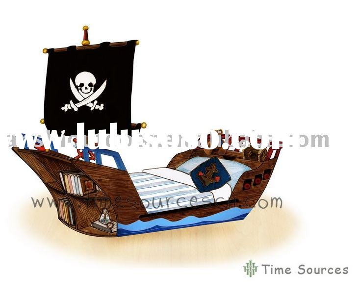 How to build a pirate ship toddler bed 86621
