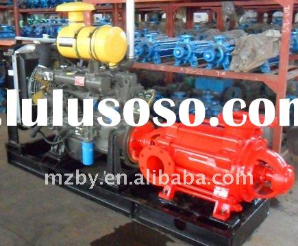 XBC-D series horizontal multistage centrifugal diesel driven fire water pump
