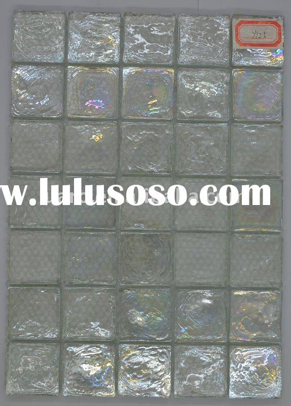 Y125 Transparent crystal bright glass block